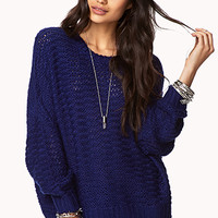 Cozy Open-Knit Top