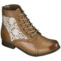 Girl's Cherokee® Gloria Crochet Boot - Brown