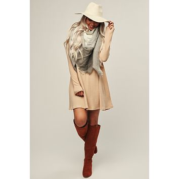 Stay Spicy Dress (Tan)