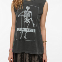Truly Madly Deeply La Muerte Muscle Tee