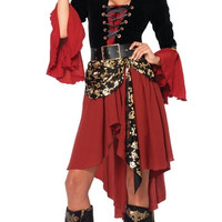 Crimson Pirate Costume
