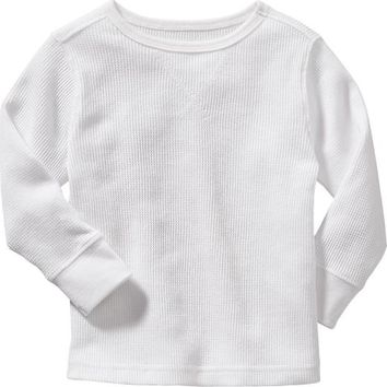 Old Navy Waffle Knit Tees For Baby