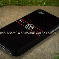 VW gti Fine Art Case Fit For iPhone 4/4S/5/5C/5S and Samsung Galaxy S3/S4