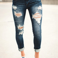 Sophie Distressed Jeans