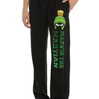 Looney Tunes Marvin The Martian Foil Guys Pajama Pants
