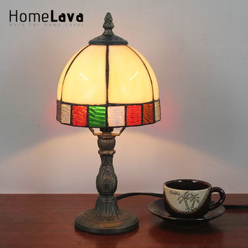 6inch European Pastoral Retro Style Table Lamp & Shade