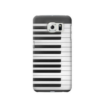 P2082 One Octave Piano Phone Case For Samsung Galaxy S6 edge