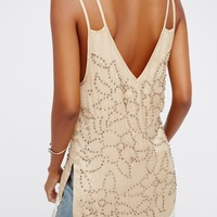 Free People Midnight Party Fringe Maxi