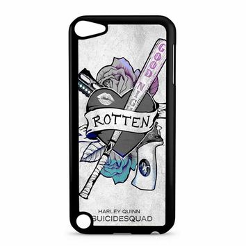 Suicide Squad Logo Harley Quinn iPod Touch 5 Case