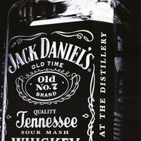 Jack Daniels Tennessee Whiskey Poster 24x36
