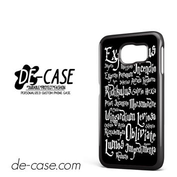 Magic Spells Harry Potter DEAL-6790 Samsung Phonecase Cover For Samsung Galaxy S6 / S6 Edge / S6 Edge Plus