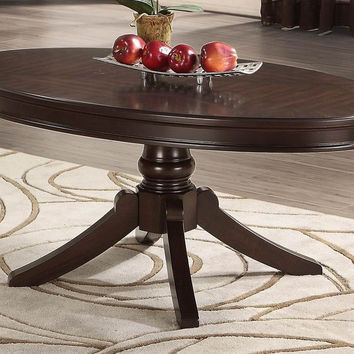 Marston Oval Cocktail Table 2615DC-30 Free Shipping