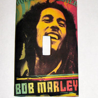 Light Switch Cover - Light Switch Bob Marley Rasta Reggae