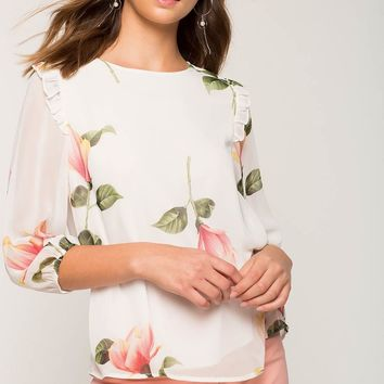 Rachel Bloom Blouse