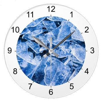 Ice Large Clock
