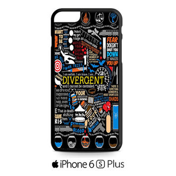 Divergent Quote Collage iPhone 6S  Plus  Case