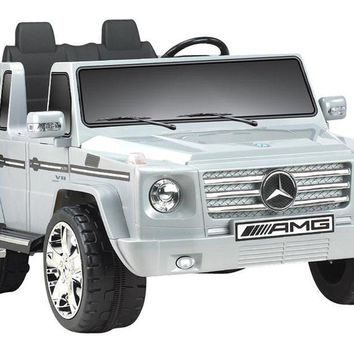 Mercedes Benz G55 12v Truck Gray