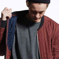 Your Neighbors Arvid Tunnel Quilted Jacket - Maroon