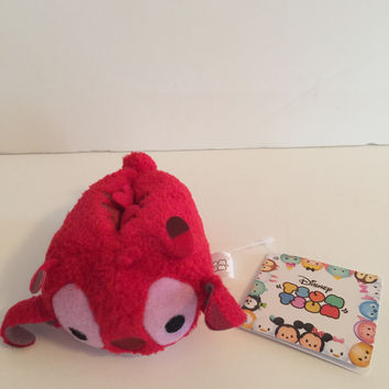 "disney japan store authentic lilo & stitch series leroy 3 1/2"" tsum plush new with tags"