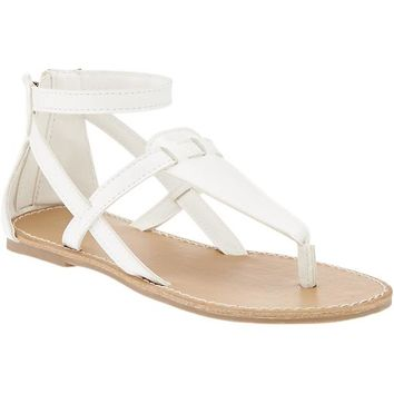 Old Navy Girls T Strap Sandals