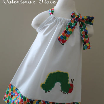 The Very Hungry Caterpillar pillowcase dress
