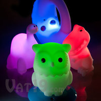 KinderGlo Portable Night Lights: Rechargeable color-changing night lights