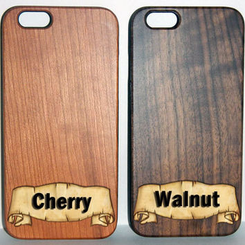 House Targaryen Sigil, Game of Thrones, Engraved iPhone 6 5 5s Wood Case, Made from Genuine Walnut or Cherry