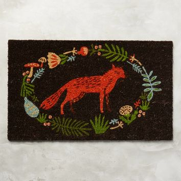 Ringed Fox Doormat