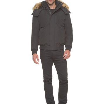 Marc New York - Bristol - Down Bomber w. Faux Fur Trimmed Hood