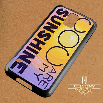 You Are My Sunshine Paintings For Sale Samsung Galaxy S3 S4 S5 S6 S6 Edge Case | Galaxy Note 3 4 Case