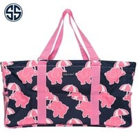 Simply Southern Collection Large Utility Bag in Elephant Print 11-ELE