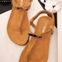 Bowtie Flat Sandals FDS060508 from topsales