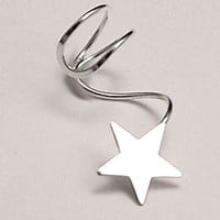 EAR CUFF - Lone Star Sterling Silver Ear Cuff