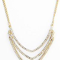 ModCloth Statement Tiers Shine on their Own Necklace