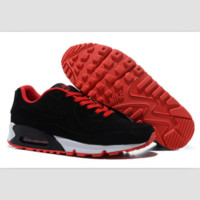 NIKE leisure sports running shoes Black and red