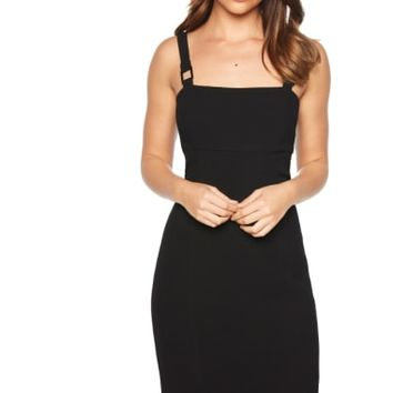Bardot Buckle Strap Sheath Dress | Nordstrom