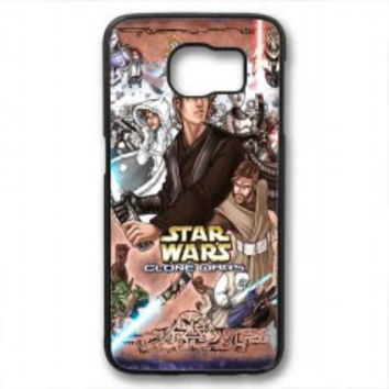Star Wars Clone Wars in color for samsung galaxy s6 case