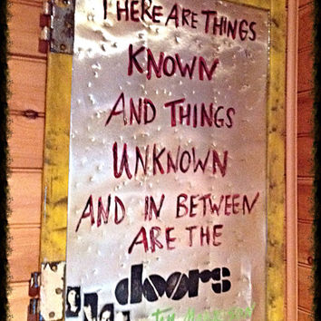 The Doors - There are things known and things unknown