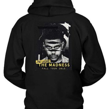 The Weeknd The Madness Fall Tour 20 Hoodie Two Sided