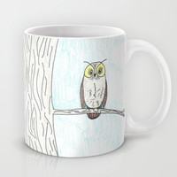 Owl Alone Mug by fantasizereality