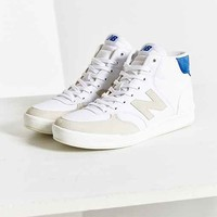 New Balance X UO Mid Court 300 Sneaker- White