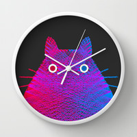 Totoro Wall Clock by Fimbis