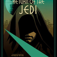 Star Wars Return of the Jedi Limited Edition Designer Poster