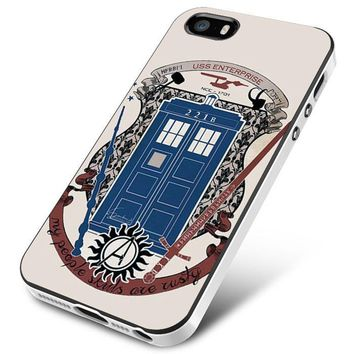 crest of the knight of fandom a lot of fandoms iPhone 5 | 5S | 5SE Case Planetscase.com