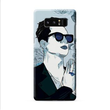 Brendon Urie Art Print Samsung Galaxy Note 8 case