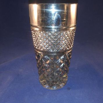 Smoked Colored Anchor Hocking Wexford Tumbler