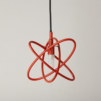 Electron Pendant Lamp (Red)