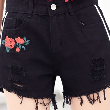 New & On-Sale - Flower has the Power Shorts, All Sizes