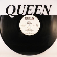 Recycled Vinyl Record QUEEN Wall Art