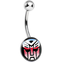 Licensed Autobot Transformer Belly Ring | Body Candy Body Jewelry